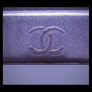 SALE Black Chanel wallet